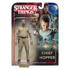 "Stranger Things Figures - Series 01 - 7"" Scale Chief Hopper"