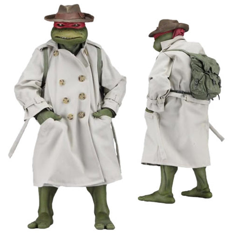 TMNT 1/4 Scale Figures - Raphael In Disguise 1990 Movie Version
