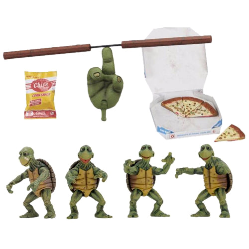 TMNT 1/4 Scale Figures - Baby Turtles 4-PK 1990 Movie Version