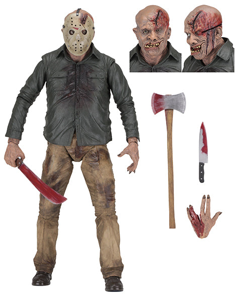 Картинки по запросу Friday The 13th 1/4th Scale Figures - Part IV Jason