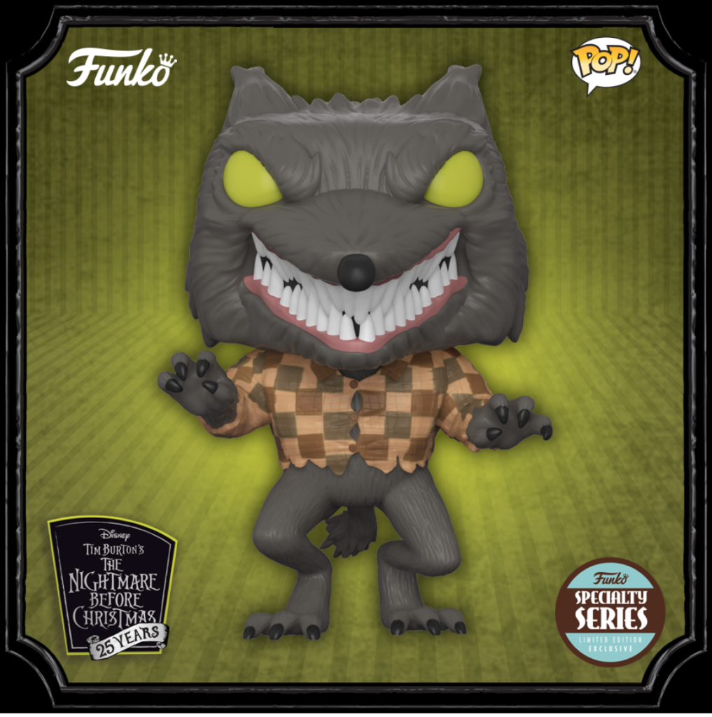 Pop! Specialty Series Nightmare Before Christmas Wolfman Exclusive