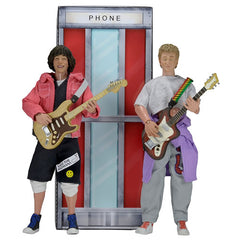 "Bill And Teds Excellent Adventure Figures - 8"" Clothed Retro Action Bill And Ted 2-Pack Figures"