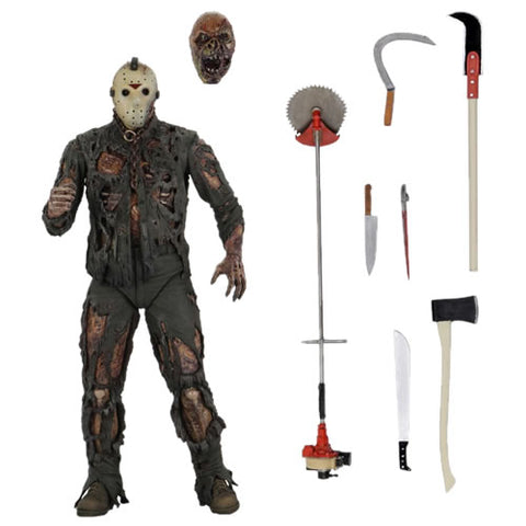 "Friday The 13th 7"" Scale Figures - Ultimate Jason (Part VII The New Blood)"