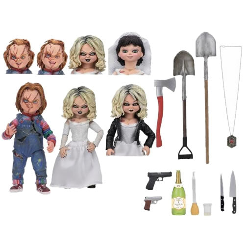 "Chucky 7"" Figures - Ultimate Bride Of Chucky ""Chucky & Tiffany"" 2-Pack"