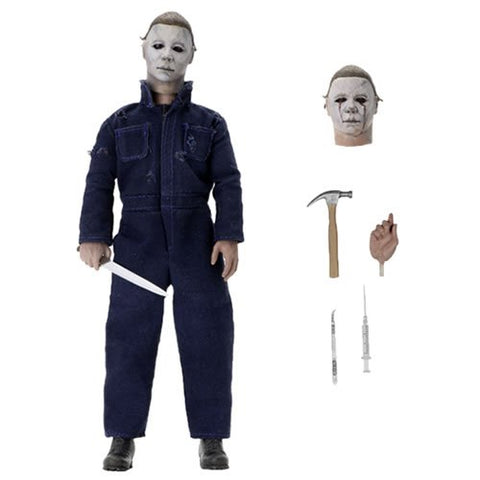 "Retro Clothed Action Figures - Halloween 2 (1981) - 8"" Michael Myers"