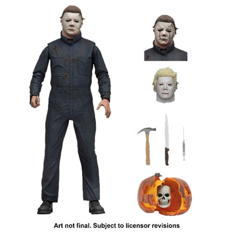 "Halloween 2 (1981) 7"" Scale Figures - Ultimate Michael Myers"