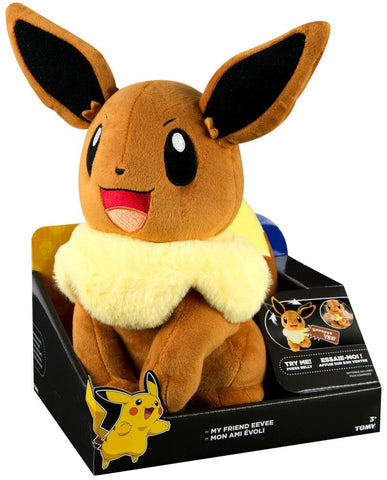 "Pokemon My Friend Eevee 10"" Talking Plush"