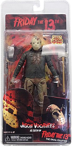 Friday the 13th series 2 Jason voorhees Battle Damage