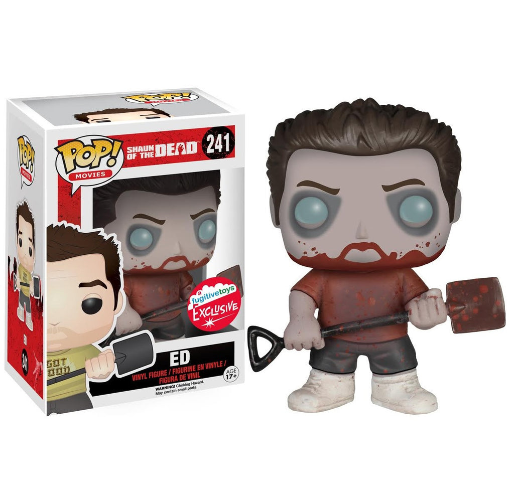 Pop! Movies: Zombie Ed [Shaun of the Dead] Fugitive Toys Exclusive