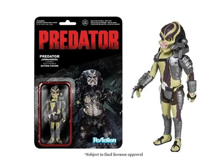 "Predator 3.75"" ReAction Retro Action Figure - Predator Closed Mouth"