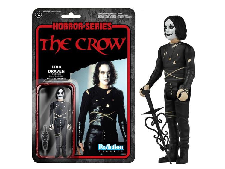 "Horror 3.75"" ReAction Retro Action Figure - The Crow"