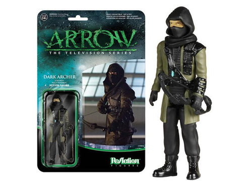 "Arrow 3.75"" ReAction Retro Action Figure - Dark Archer"