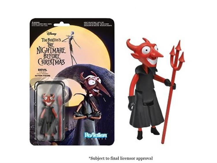 "The Nightmare Before Christmas 3.75"" ReAction Retro Action Figure - The Devil"