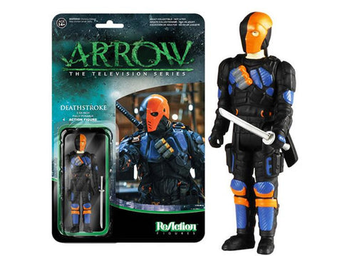 "Arrow 3.75"" ReAction Retro Action Figure - Deathstroke"