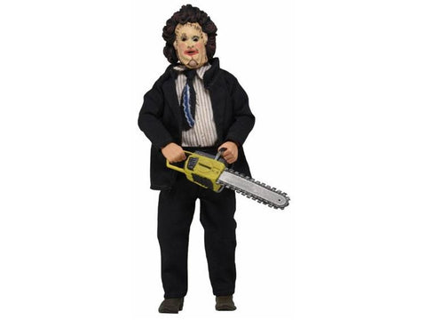 "Texas Chainsaw Massacre 8"" Retro Clothed Leatherface in Dinner Attire"