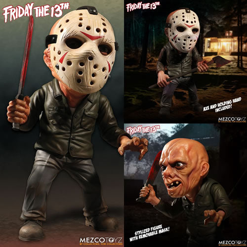 Friday The 13th Figures - Jason Voorhees Stylized Roto Figure