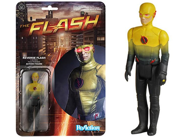 "The Flash 3.75"" ReAction Retro Action Figure - Reverse Flash"