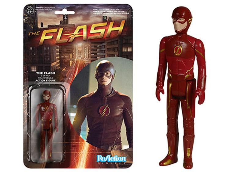 "The Flash 3.75"" ReAction Retro Action Figure - The Flash"