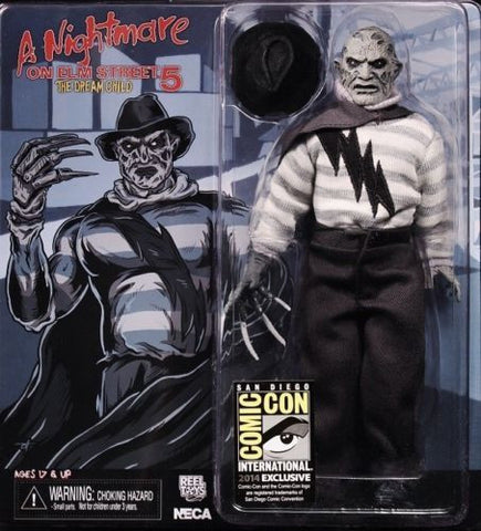 "A Nightmare on Elm Street 8"" Retro Cloth Super Freddy SDCC 2014 Exclusive"