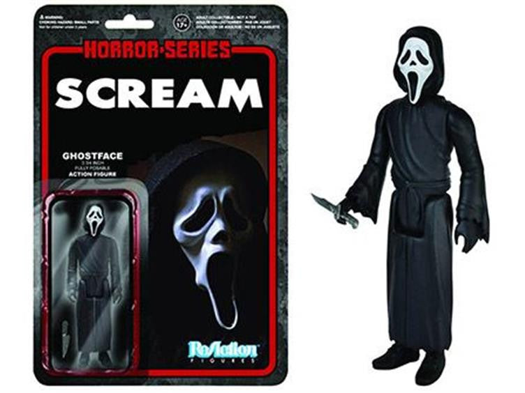 "Horror 3.75"" ReAction Retro Action Figure - Ghostface"
