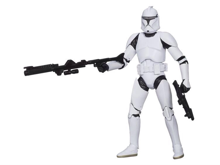 "2014 Star Wars 6"" Black Series 02 - Clone Trooper"