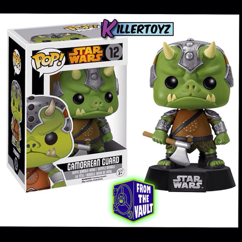 Pop! Star Wars: Gamorrean Guard from the Vault Limited