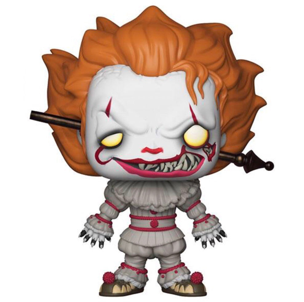 Pop! Movies: IT S2 Pennywise w/Rod Exclusive