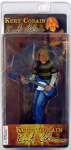 Neca Music Action Figures: Kurt Cobain Teen Spirit