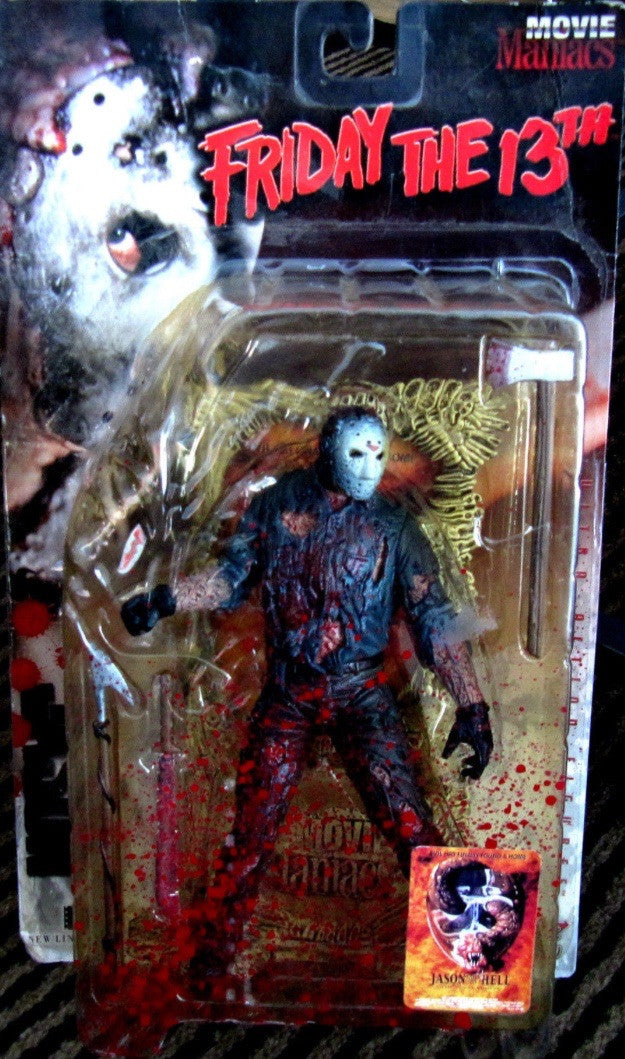 MOVIE MANIACS SERIES 1 Jason Goes To Hell: Jason voorhees (Bloody)