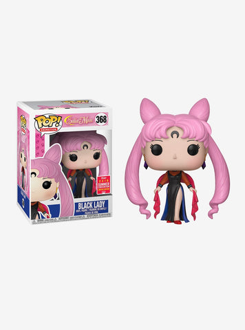 FUNKO SAILOR MOON POP! ANIMATION BLACK LADY VINYL FIGURE 2018 SUMMER CONVENTION EXCLUSIVE