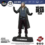 "McFarlane Color Top Series Blue Wave Figures - The Walking Dead (TV Version) - 7"" Paul ""Jesus"" Rovia"