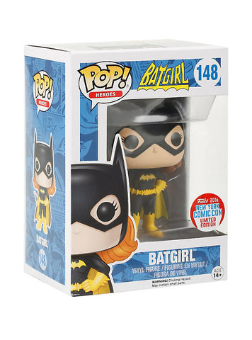 DC COMICS POP! HEROES BATGIRL VINYL FIGURE 2016 NEW YORK COMIC CON LIMITED EDITION