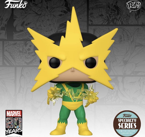 Funko POP! Marvel's 80th: First Appearance Electro Special Series
