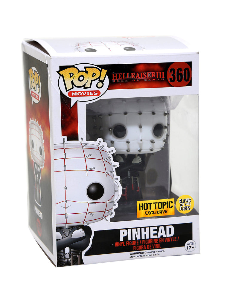 FUNKO Pop! MYSTERY HORROR BLIND BOX VINYL FIGURE EXCLUSIVE (Pinhead)