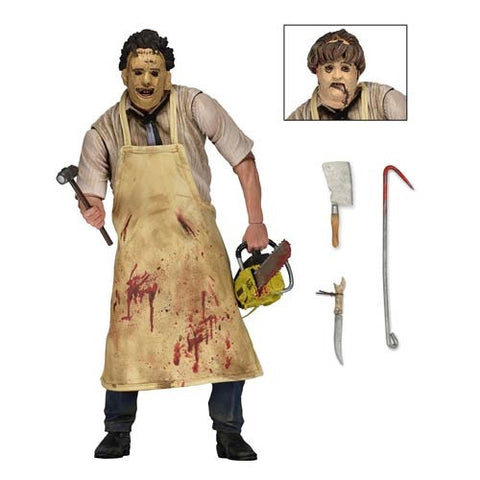 "Texas Chainsaw Massacre Ultimate 7"" Figure - Leatherface"