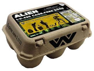 Alien Eggs in carton 6-pack