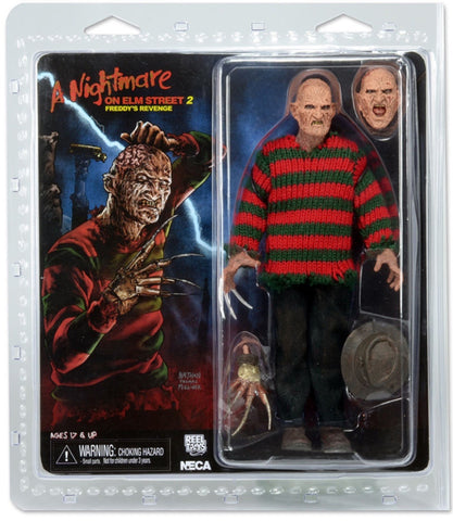 "A Nightmare on Elm Street 8"" Retro Cloth Freddy's Revenge Figure"