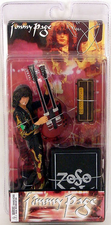 Led Zeppelin Action Figure: Jimmy Page