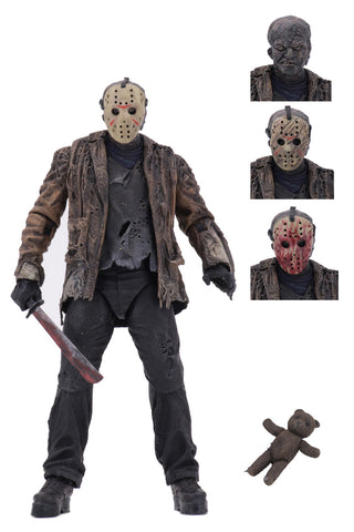 "Freddy vs Jason - 7"" Scale Action Figure - Ultimate Jason Voorhees"