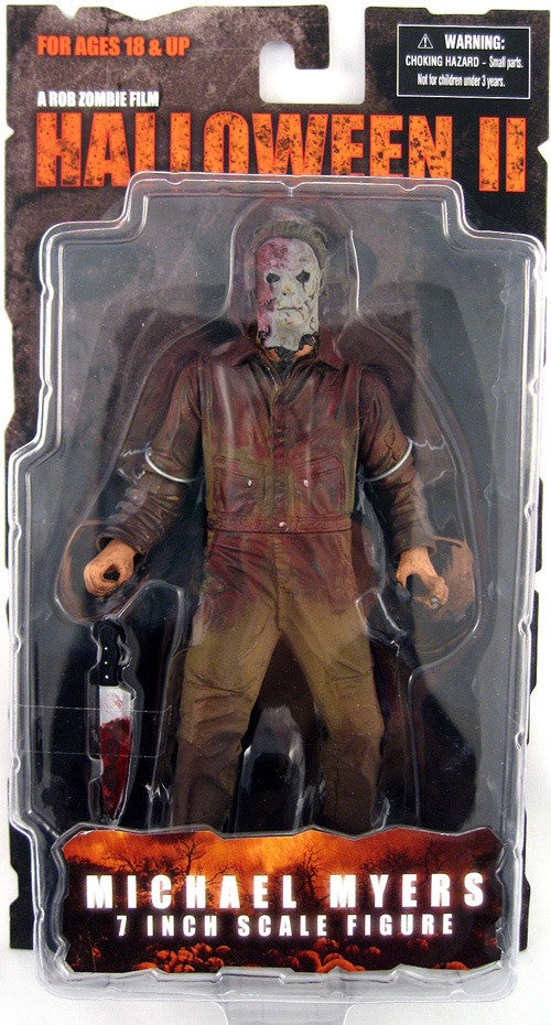 Halloween II Rob Zombie Film 7 Inch Action Figure- Michael Myers