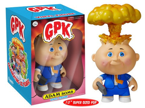 "Garbage Pail Kids 10"" Adam Bomb"