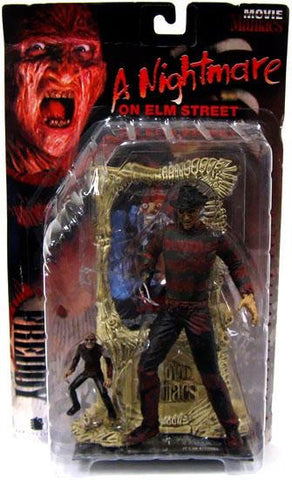 MOVIE MANIACS SERIES 1 A Nightmare on Elm Street: Freddy Kruger (Bloody)