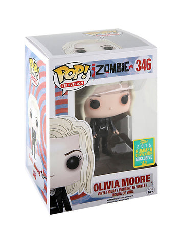FUNKO IZOMBIE POP! TELEVISION OLIVIA MOORE VINYL FIGURE 2016 SUMMER CONVENTION EXCLUSIVE