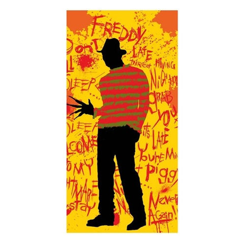 Beach / Bath Towel - Nightmare On Elm Street - Freddy
