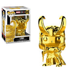 Marvel MS 10 Loki Gold Chrome Pop! Vinyl Figure