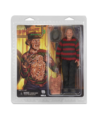 "A Nightmare on Elm Street 8"" Retro Cloth Dream Warriors Freddy"