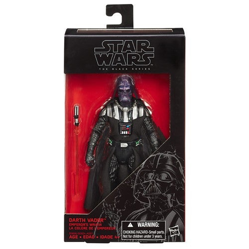"2015 Star Wars The 6"" Black Series Exclusive The Emperor's Wrath Darth Vader"