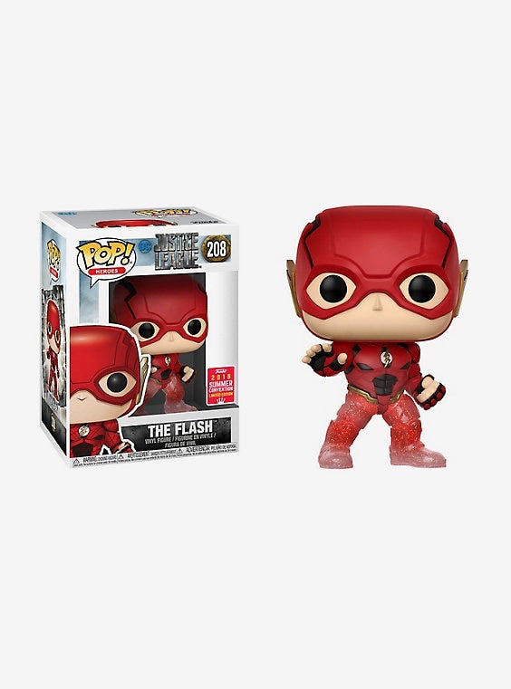 Funko Pop! DC Comics Justice League The Flash (Running) Vinyl Figure - 2018 Summer Convention Exclusive
