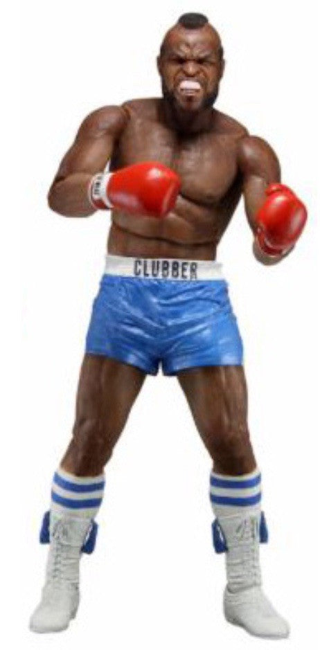 NECA Rocky Series 1 Clubber Lang Action Figure [Blue Trunks Re-issue]