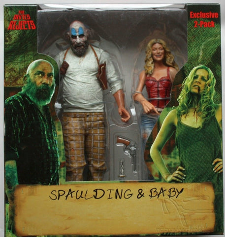 The Devils Rejects Exclusive Capt. Spaulding and Baby 2 pack